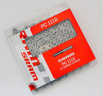 SRAM PC-1110 PC 1110 11 Speed Chain, Fit XX1/X01/X1/GX/NX/Force 1/Rival 1/Apex 1 • 17.92£