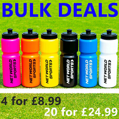 Sports Water Bottles [750ml] - BPA FREE PLASTIC BOTTLES - Sports Cycling Bottle • 24.99£