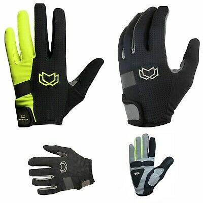 WFX Cycling Gloves Touchscreen Gel Padded Windproof Mens Full Finger Gloves • 8.99£