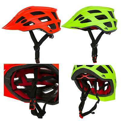 Trespass Zprokit Adults Bike Cycling Helmet Lightweight Visible In Red Green • 24.99£