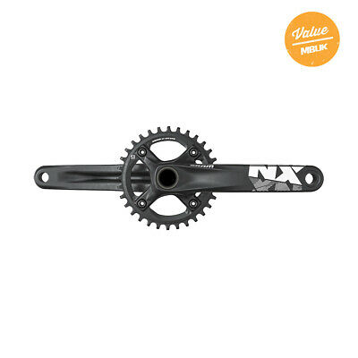 SRAM Crank NX GXP 1X11 155 MM Black W 32T X-Sync Chainring 11 Speed 32T • 104.99£