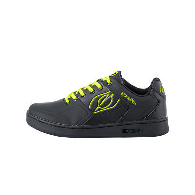 O'Neal Pinned Bicycle Cycle Bike Shoes Black / Neon Yellow • 62.99£