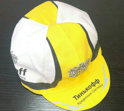 Tinkoff Pro Cycling Team Cycle Made In Italy Summer Under Helmet Bike Hat Cap • 5.99£