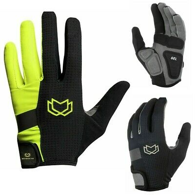 WFX Mountain Bike Bicycle Cycling Full Finger Gloves BMX MTB Riding Touchscreen • 9.99£