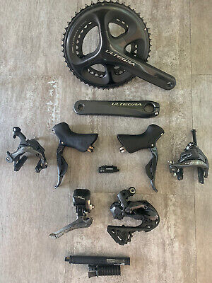Shimano Ultegra 6800 11-speed Di2 Groupset Road - Great Condition • 410£