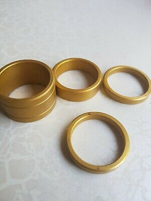 Gold Alloy Headset Spacers • 10£