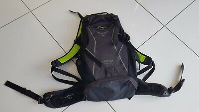 Osprey Packs Zealot 15 Hydration Pack Carbide Grey Medium/Large • 15.99£