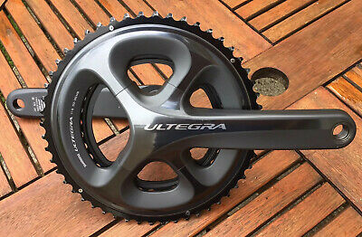 Shimano Ultegra 6800 11spd Double Chainset 52/36 170mm • 34£