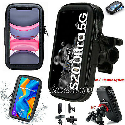360 Bicycle Bike Pouch Cover Waterproof Ride Mount Holder Case For Mobiles Phone • 8.96£