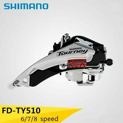 Shimano Tourney FD--TY500 7 8 Speed Front Derailleur Dual-Pull Upgraded TX50/51 • 10.99£