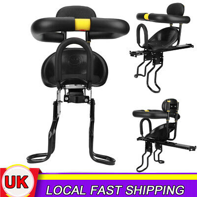 Safety Child Baby Kid Bike Bicycle Cycle Front Seat Chair Carrier With Handrail • 22.99£