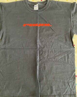 Royal Racing T-shirt Black Red Logo Used Size Large Old School Rare • 9.99£