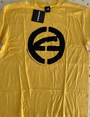 Commencal Bikes T-Shirt Yellow With Black Logo New Size Large Not FOX Or TLD • 9.99£
