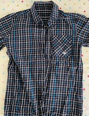 Royal Racing Casual Shirt Dark Blue Used Size Medium Very Rare • 19.99£