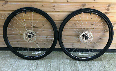 Bontrager Connection 700c Hybrid Bike Disc Wheelset With H2 700 X 35c Tyres • 64£