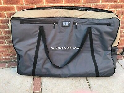 Neil Pryde Deluxe Padded Bike Cycle Bicycle Transport Bag Excellent Condition • 70£