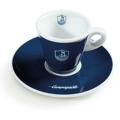 Campagnolo Bicycle Cycle Bike Espresso Coffee Cup Blue - Pack Of 2 • 31.99£