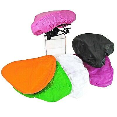 Bicycle Cycle Road Mtb Bike Protective Waterproof Rain Seat Saddle Cover • 1.99£