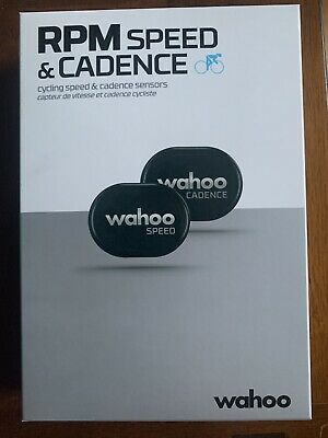Wahoo RPM Cycling Speed And Cadence Sensor, Bluetooth / ANT+ • 40£