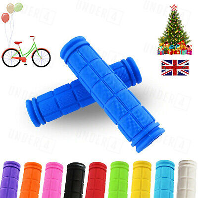 Soft Bike Handlebar Grips Hand Grip MTB BMX Cycle Road Mountain Bike Bicycle • 3.35£