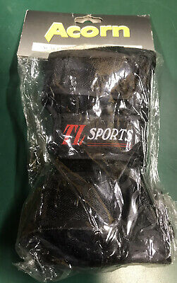 Wrist Guards, Acorn, Black Sports Supports, New In Packet • 0.99£