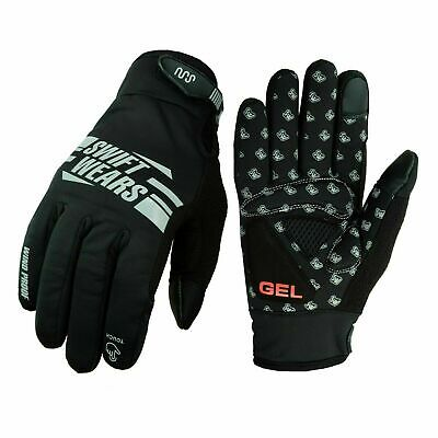 Cycling Winter Waterproof Touch Screen Full Finger Windproof Bicycle Gloves • 6.99£