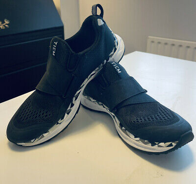 Official TIEM Athletic Slipstream Cycling/Spin Shoes - Black - USED UK 5.5 • 55£
