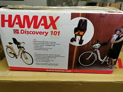 Hamax Discovery Bike Seat Front Mounted • 5.90£