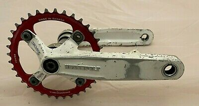 Truvativ Hussefelt 165mm DH Mountain Bike 165mm Crank With Ring And BB - USED  • 15£