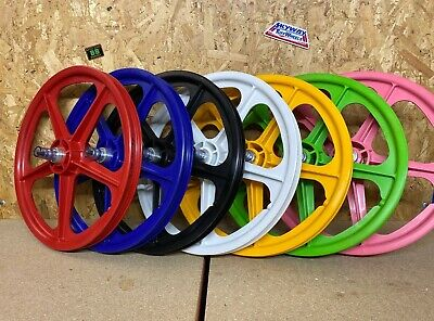 SKYWAY Tuff 2 WHEEL 20  X 1.75 OLD SCHOOL BMX BLACK WHITE RED YELLOW GREEN PINK • 109.99£