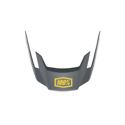 100% Altec V2 Replacement Bicycle Cycle Bike Helmet Visor Charcoal • 34.99£