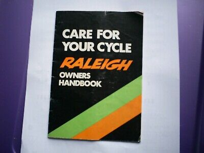 Raleigh Cycle Owners Handbook • 5£