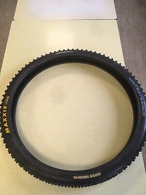 MAXXIS 26 X 2.20 MTB TYRE WETSCREAM DOWNHILL SUPER TACKY 99p NO RESERVE • 0.99£