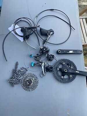 Shimano Claris/rs200 8speed Groupset Tektro Disc Brakes • 50£