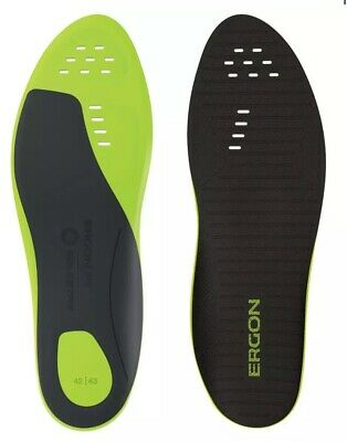 Ergon IP3 Solestar Insole Size 44/45 In Shoe Arch Support For Cycling Shoes • 20£
