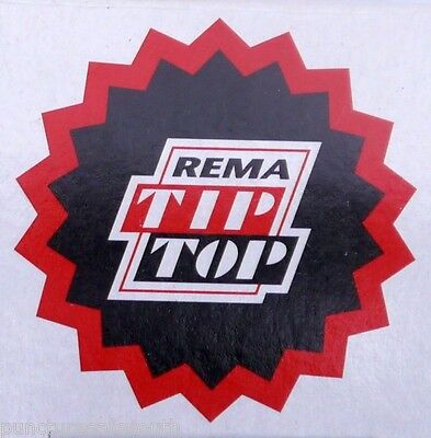 Rema Tip Top Round Tyre Inner Tube Puncture Repair Patches Agri, Truck, Car  • 5.25£