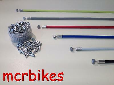 Quality Bicycle Brake Cable & Housing Front & Rear Complete + *free End Crimp*  • 2.99£