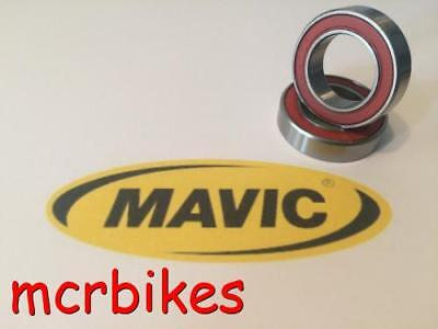 Mavic Aksium Bicycle Wheel Hub Bearing Kits Chrome Steel / Hybrid Ceramic 2rs • 5.98£