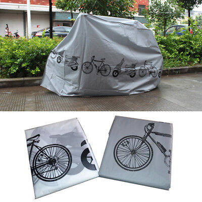 Universal Bicycle Bike Cover Waterproof UV Weather Rust Resistant 210cm X 100cm • 6.59£