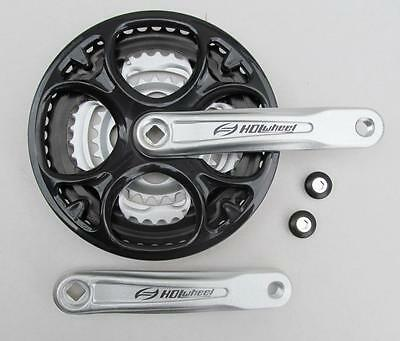 Alloy Cranks 28/38/48T  MTB Chainset,  21spd / 24spd, 170mm Alloy Crank Arms  • 18.35£