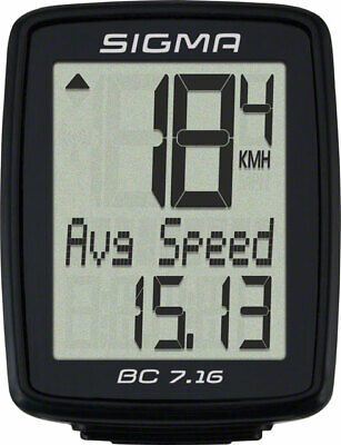 Sigma BC 7.16 Wired Cycling Computer • 24.61£