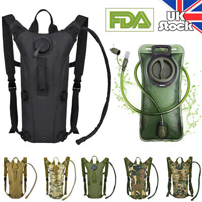Outdoor Sporting Backpack 3L Water Bladder Bags Hydration Packs Cycling Hiking • 11.42£