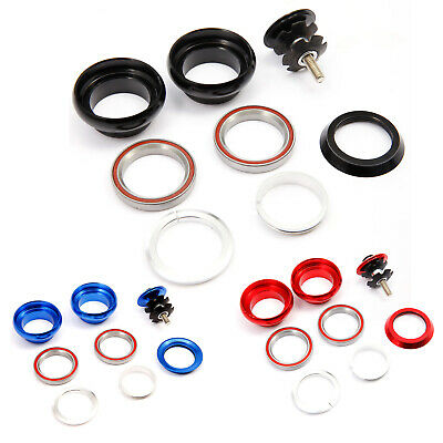 1 1/8  Mountain Bike MTB Bicycle Cycling Aluminum Threadless External Headset UK • 11.99£