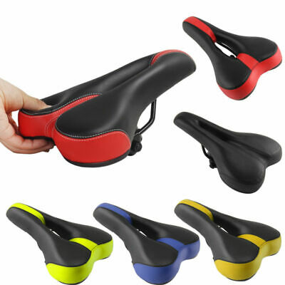 New Mountain Bike Bicycle Cycle MTB Soft Saddle Seat Road Sport Extra Comfort • 15.89£