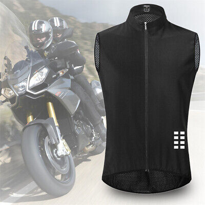 Quick-Drying Sleeveless Cycling Tank Top Bike Vest Gillet Bicycle Jersey • 12.77£