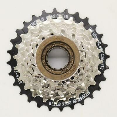 Moutain Bike 7 Speed Screw On Freewheel Cogs  14t - 28t Works  With Shimano,  • 13.95£