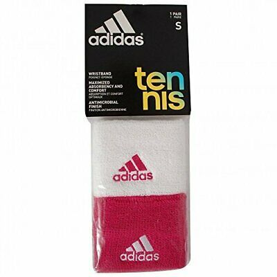 Adidas Adults Unisex Tennis Wristbands M66208 • 9.99£