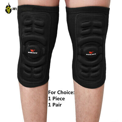 Knee Pads Mountain Bike Cycling Protection Knee Brace Support Protector Gel Pad • 11.02£