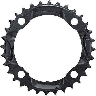 Bike Chain Ring Shimano FCM590 Deore Triple Middle Black • 10.99£