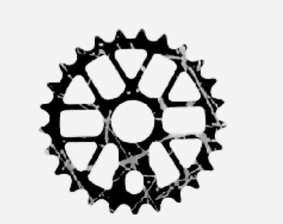 Savage Smoke Black 25T Tooth BMX Sprocket Upgrade - STAND OUT FROM THE CROWD • 12.99£